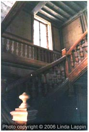 Staircase of  Prieuré at Fontainebleau